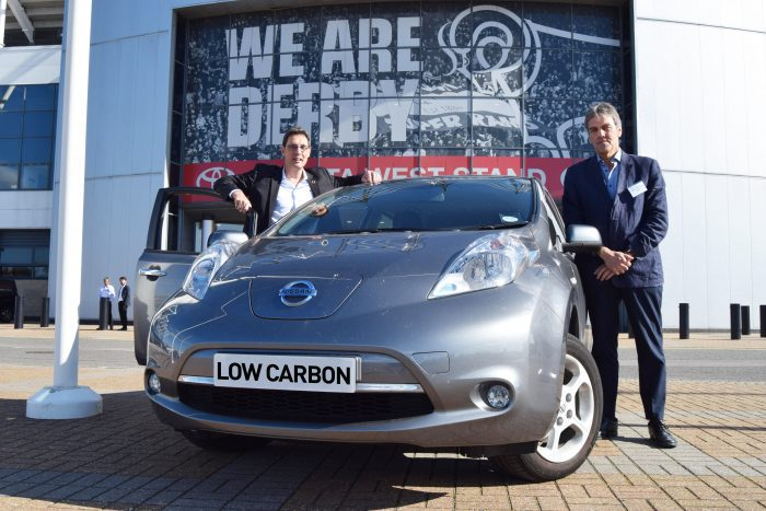 Electric vehicles powering businesses… and cutting energy bills