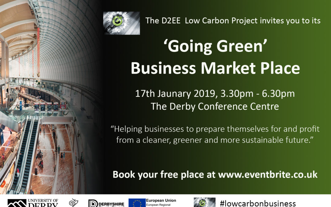'Going Green' Business Market Place (17-01-2019)