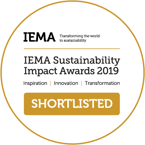 Low Carbon Project shortlisted for an IEMA Awards 2019