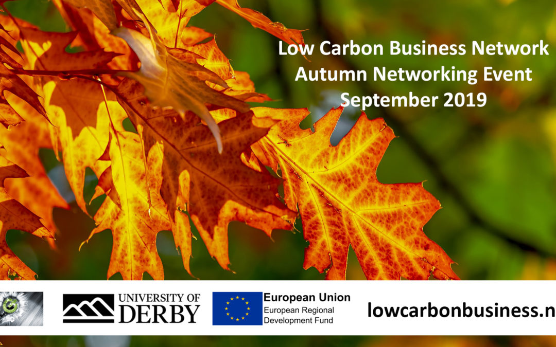 LCBN Autumn Networking Meeting (Provisional date 19 Sept 2019)