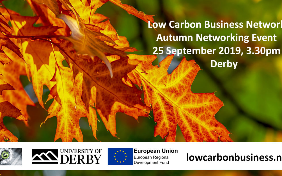 LCBN Autumn Networking Meeting (25 Sept 2019)
