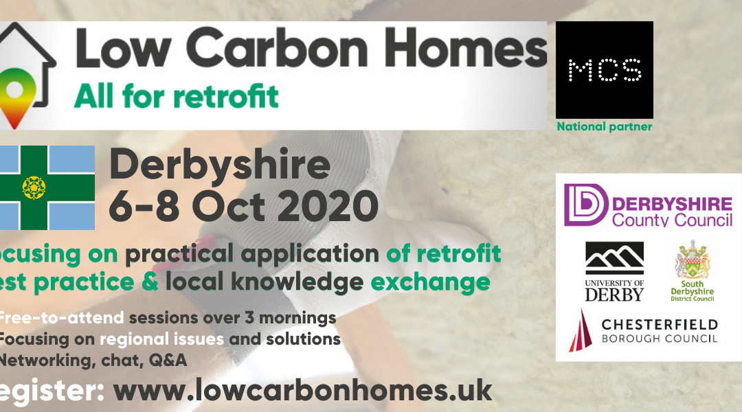 Low Carbon Homes Event (06.10.2020 – 08.10.2020 October)